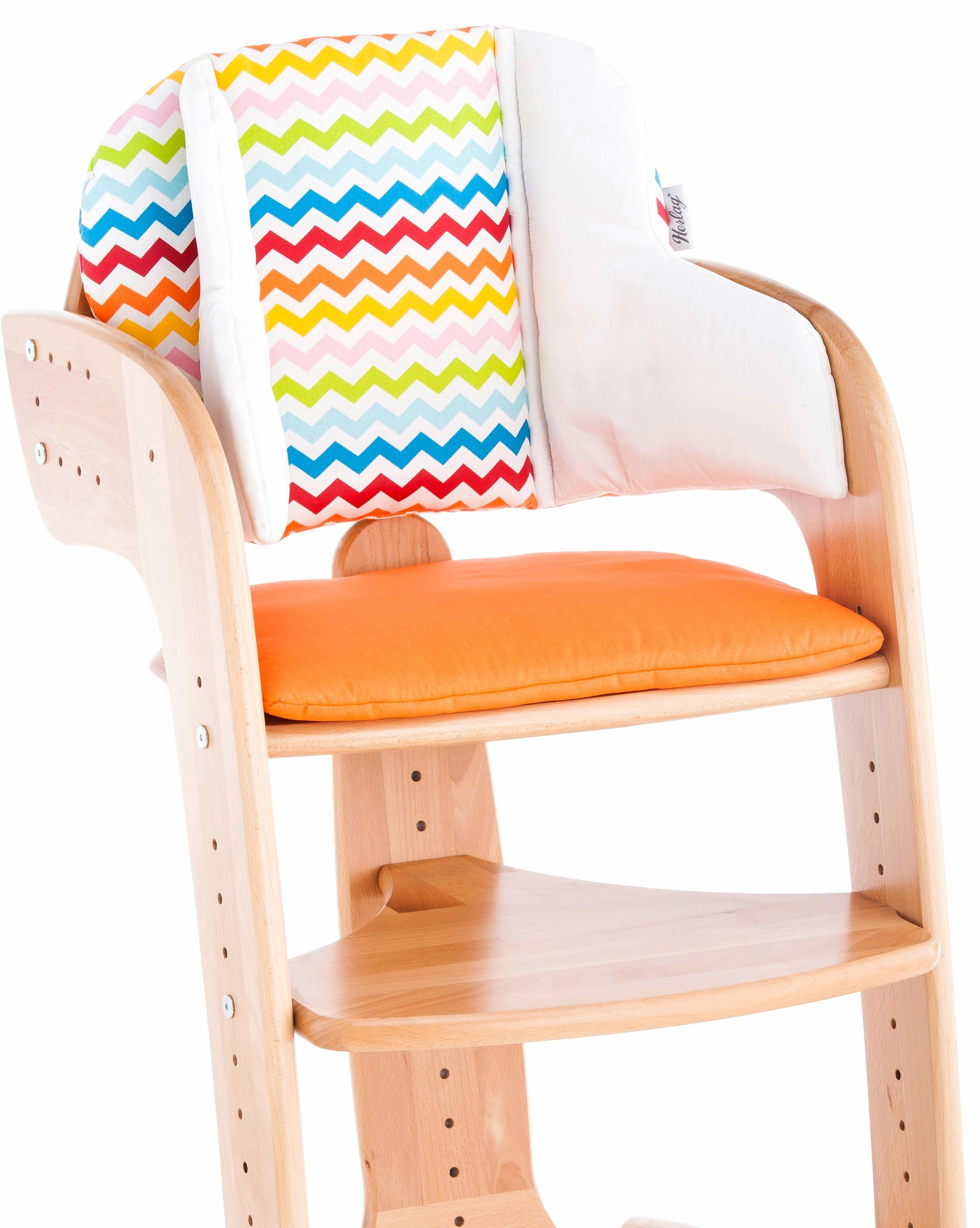 Herlag® Sitzpolster für Hochstuhl Tipp Topp Comfort IV, »orange«