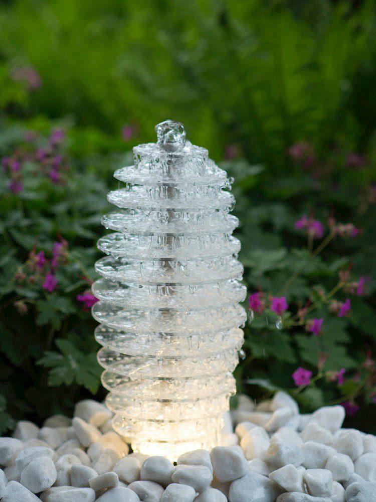 ACQUAARTE/UBBINK Gartenbrunnen »Mires«, B/T/H: 20/20/45 cm