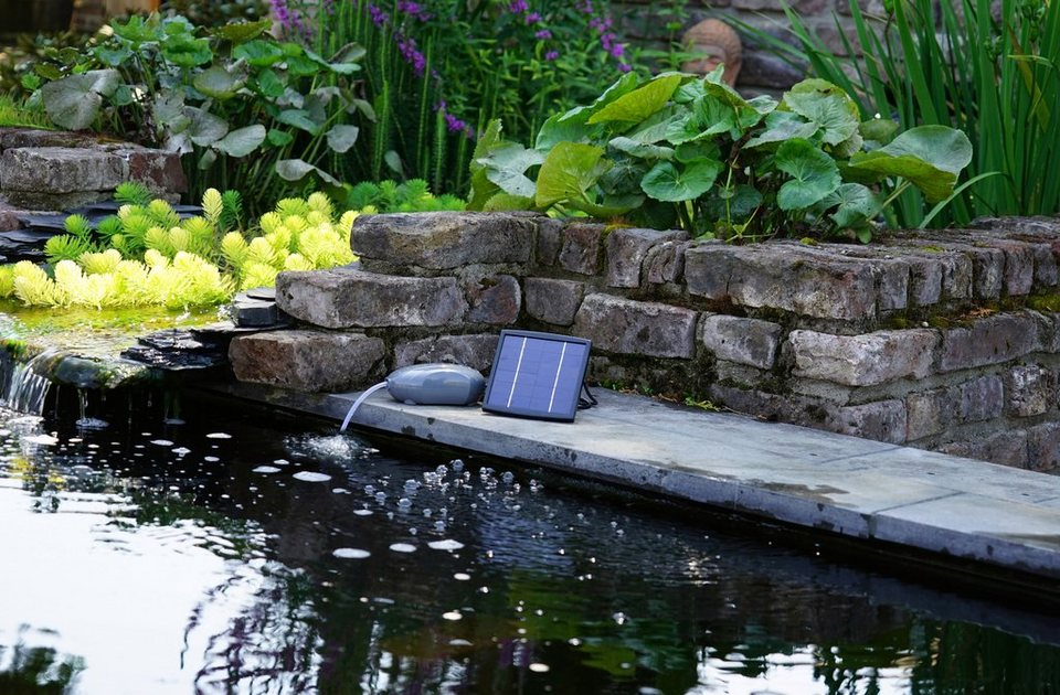 ubbink teichbel fter air solar outdoor bis l wasserinhalt online kaufen otto. Black Bedroom Furniture Sets. Home Design Ideas