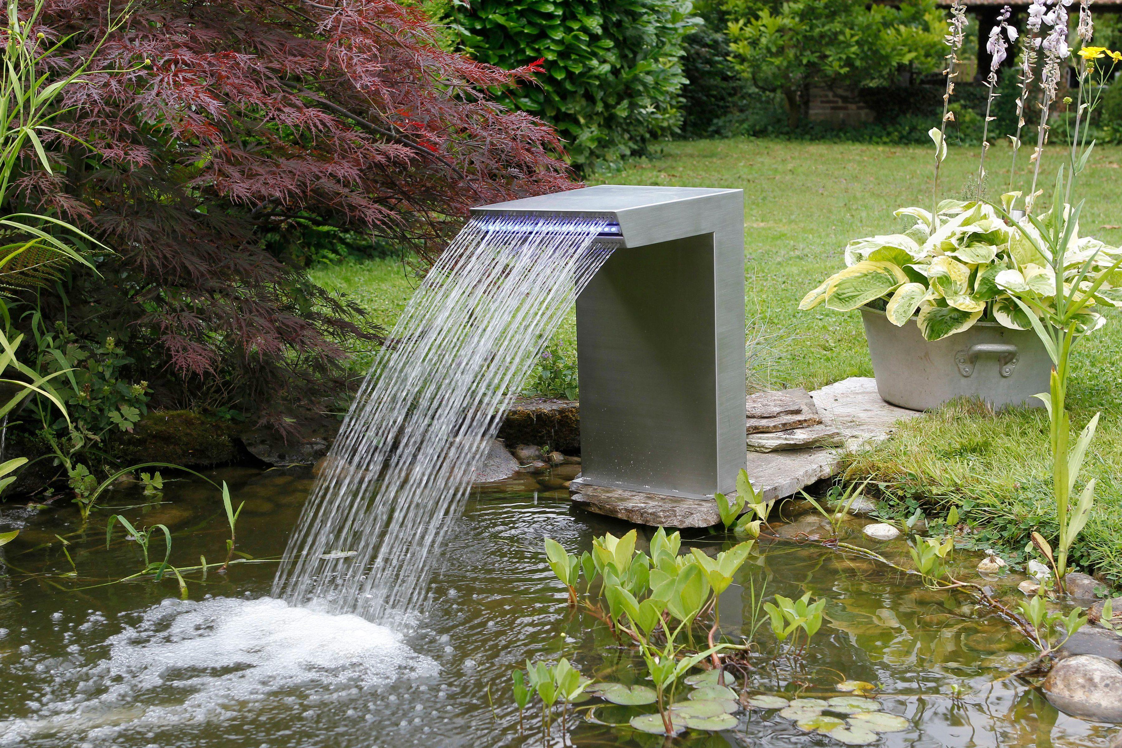 UBBINK Wasserfall »Straight LED«, B/T/H: 30/42/54 cm