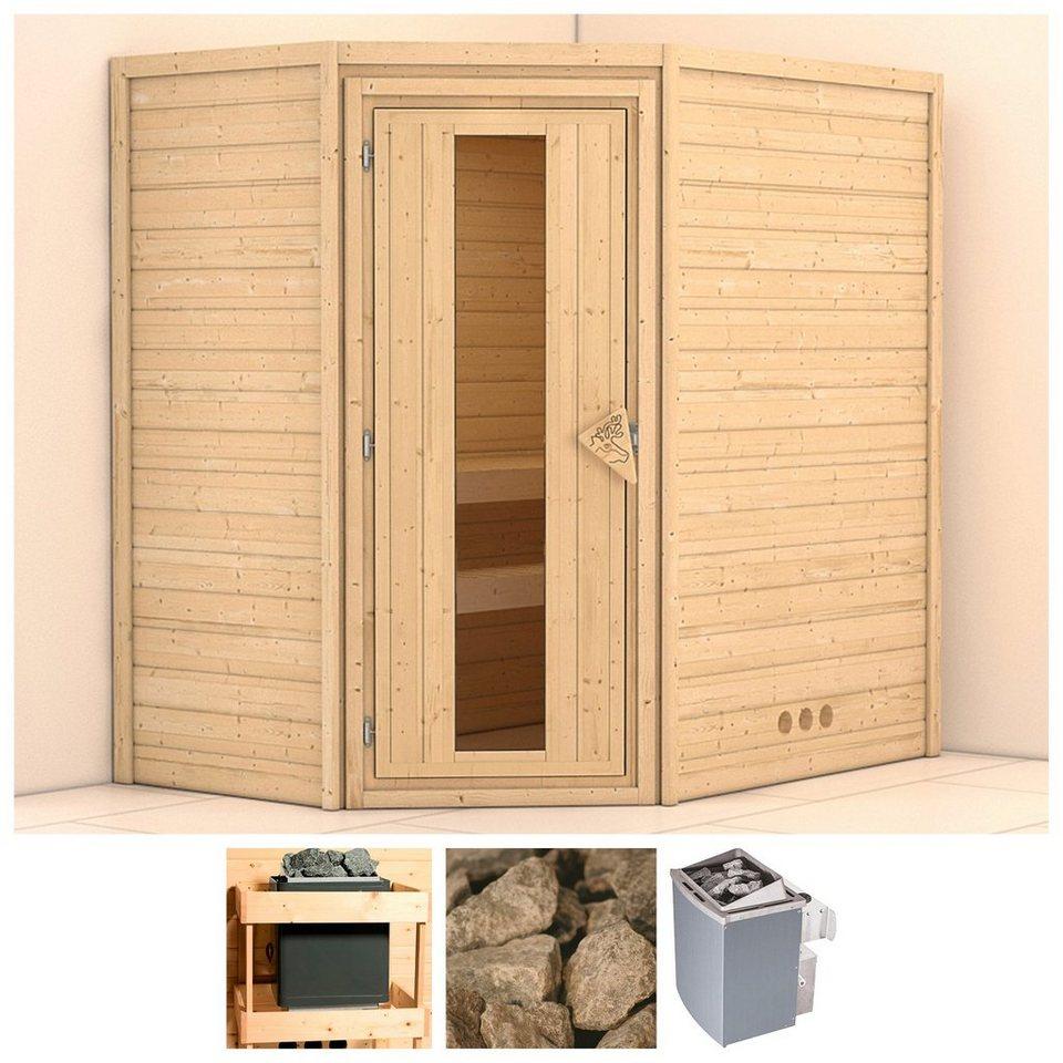 karibu sauna svea 196 146 200 cm 9 kw ofen mit int. Black Bedroom Furniture Sets. Home Design Ideas