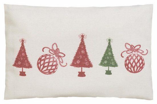 Kissenbezug »Tannenbaum«, CASATEX, mit weihnachtlichen Motiven