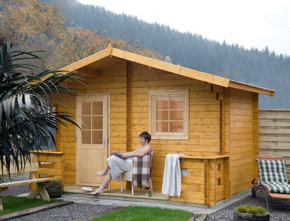 wolff saunahaus sanna 70 b t h 460 320 280 cm 70 mm. Black Bedroom Furniture Sets. Home Design Ideas