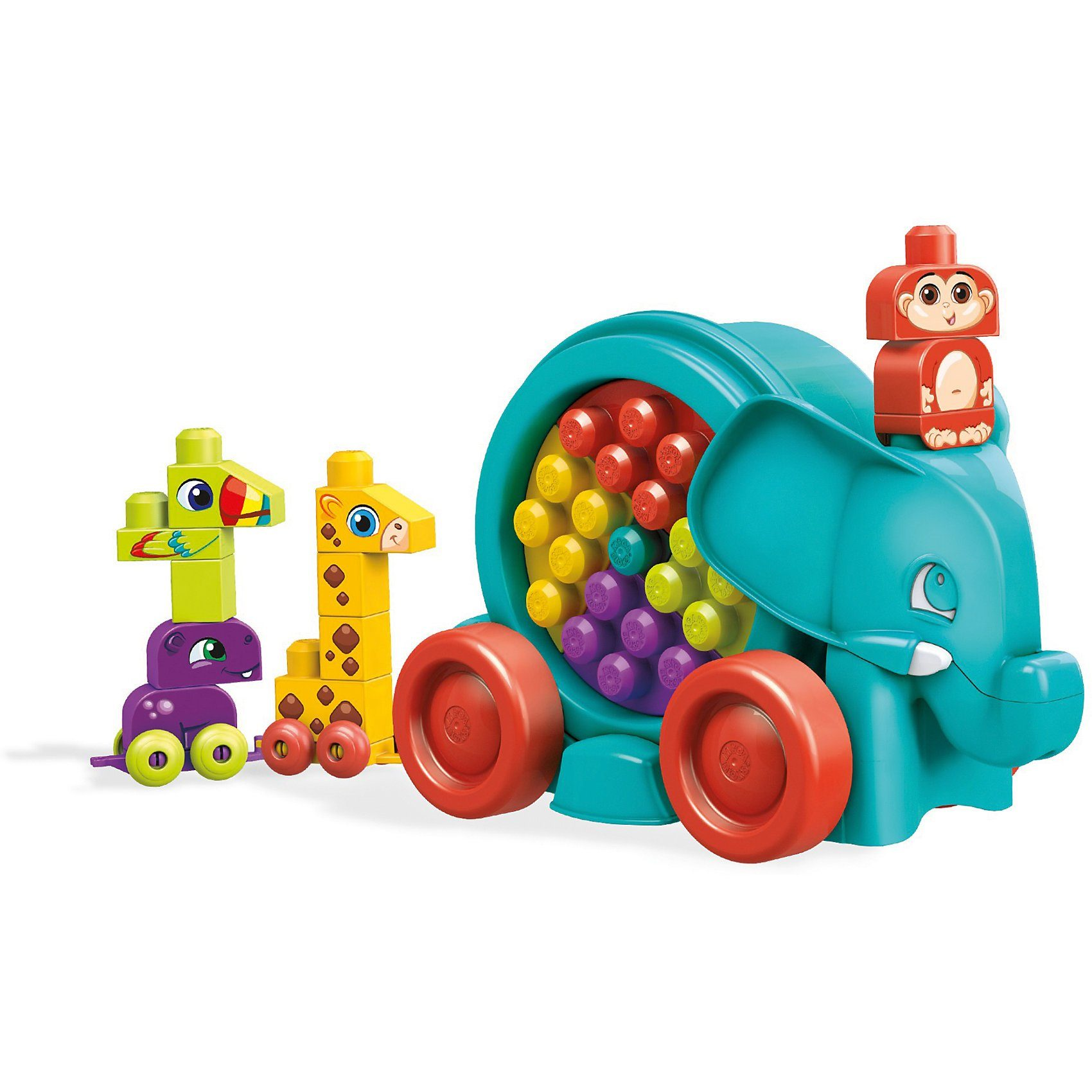 Mattel® Mega Bloks Lustige Elefantenparade