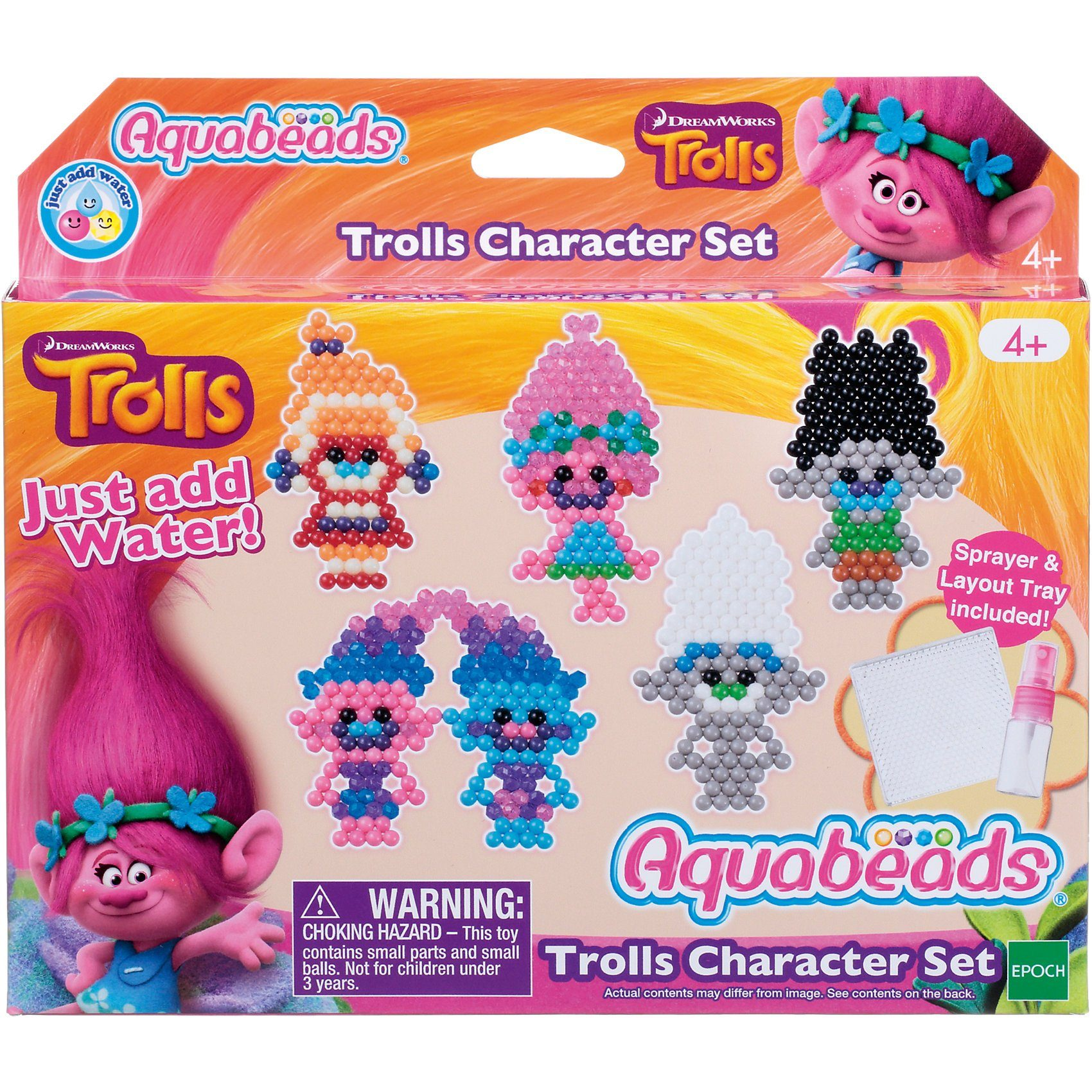 EPOCH Traumwiesen Aquabeads Trolls Figurenset