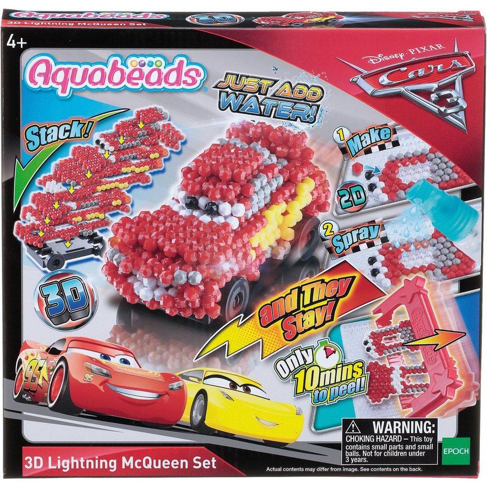 EPOCH Traumwiesen Aquabeads Cars 3 3D Lightning McQueen Motivset online kaufen