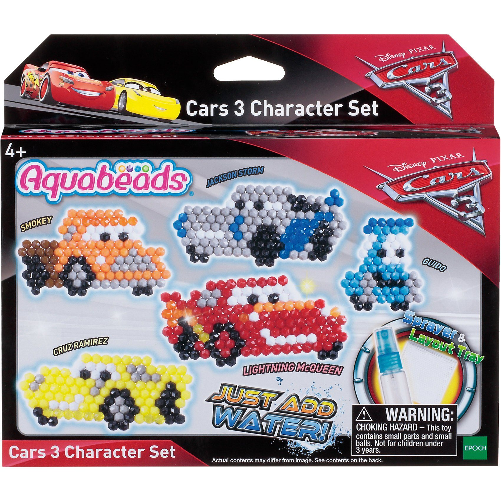 Epoch Traumwiesen Aquabeads Cars 3 Figurenset