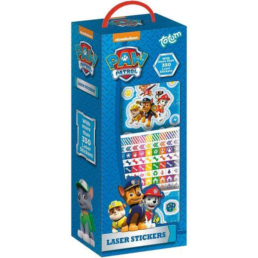 totum PAW Patrol Stickerbox, 350 Sticker