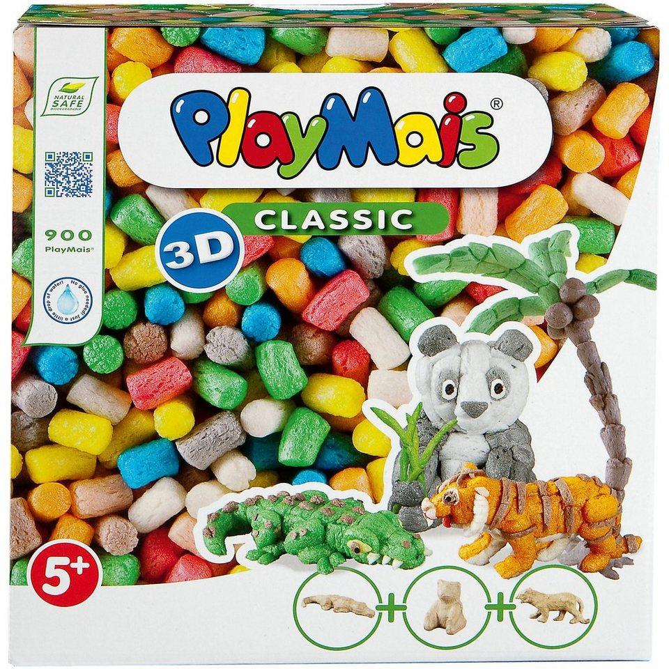 PlayMais 3D Wilde Tiere, 900 Maisbausteine