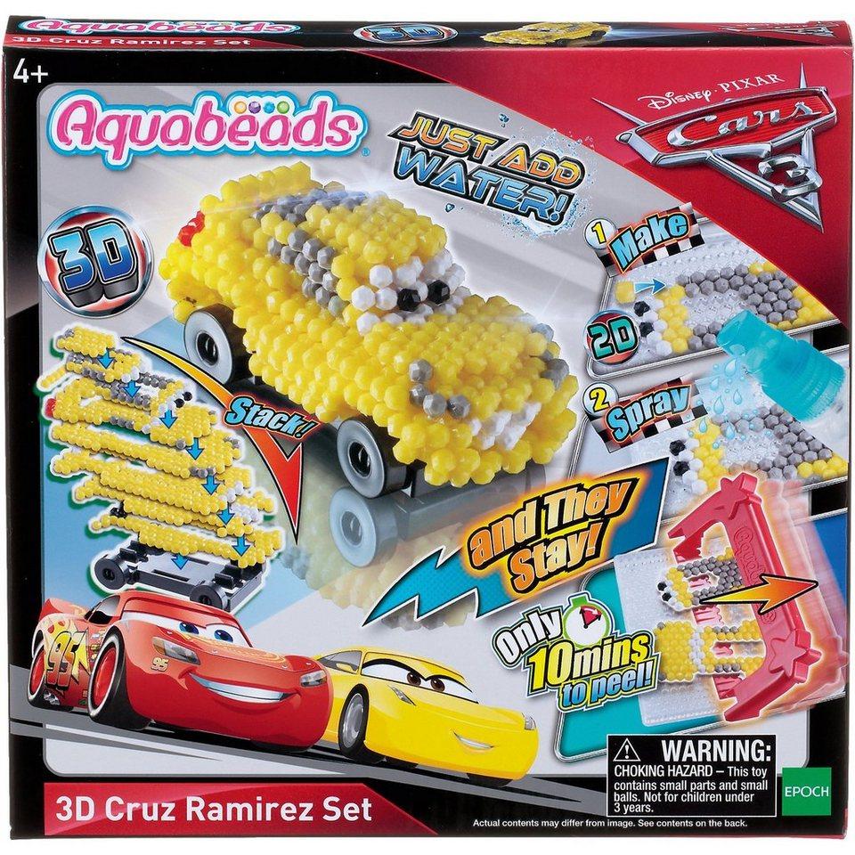 EPOCH Traumwiesen Aquabeads Cars 3 3D Cruz Ramirez Motivset online kaufen