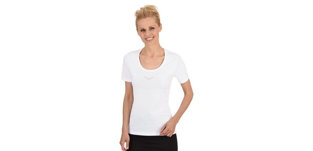 TRIGEMA T-Shirt mit Swarovski® Kristallen Preiswerte Qualität 2OAhb1w