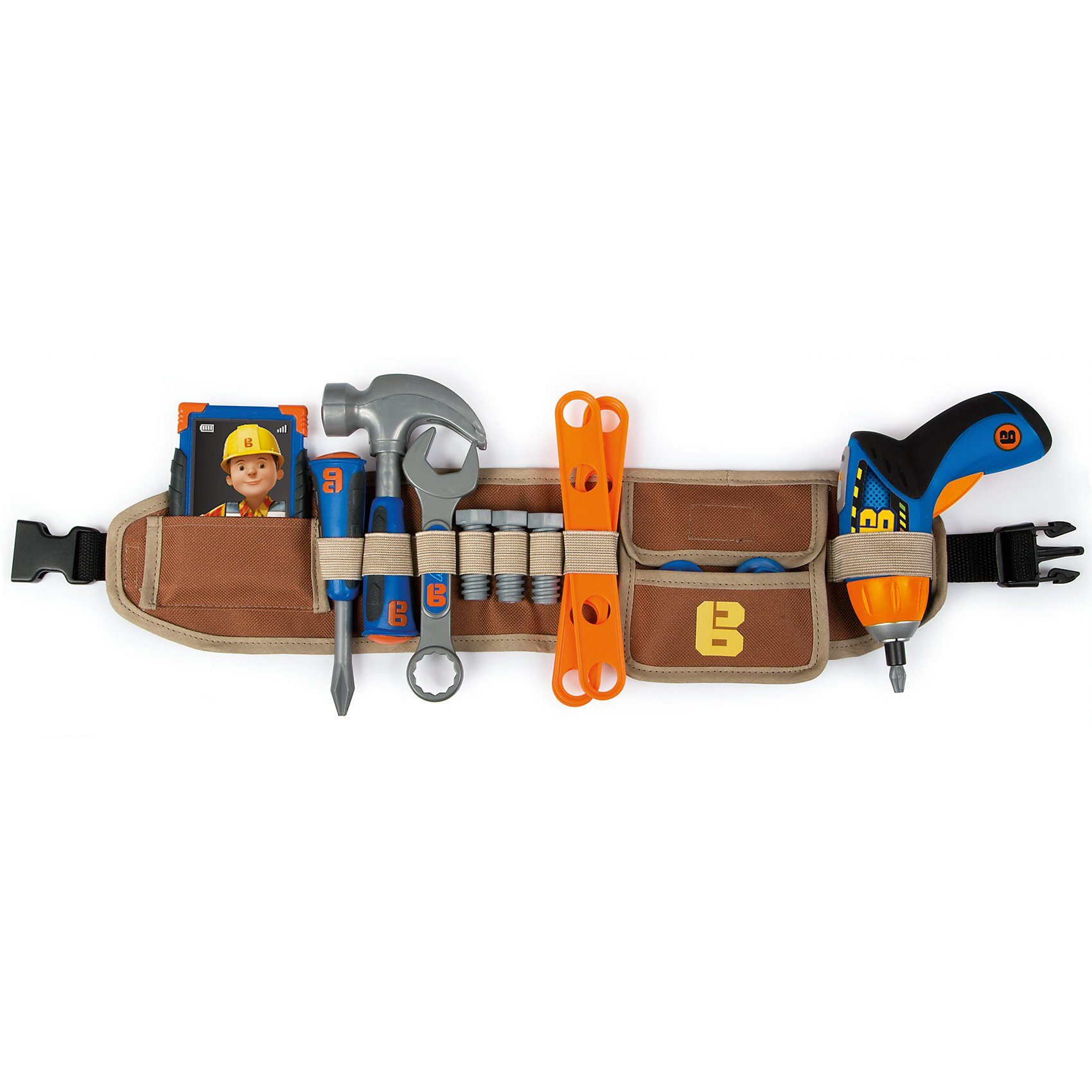 Smoby Bob der Baumeister Werkzeuggürtel XL