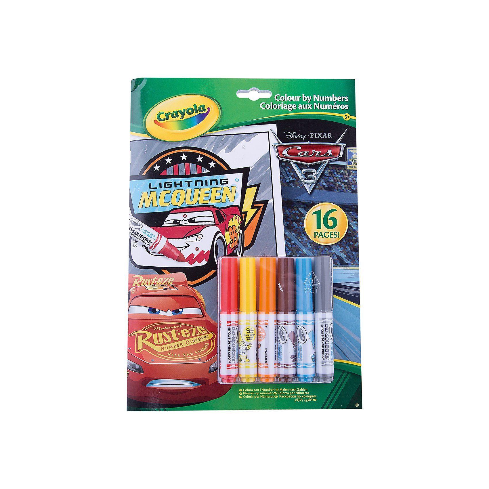 Crayola Cars 3 - Malen nach Zahlen