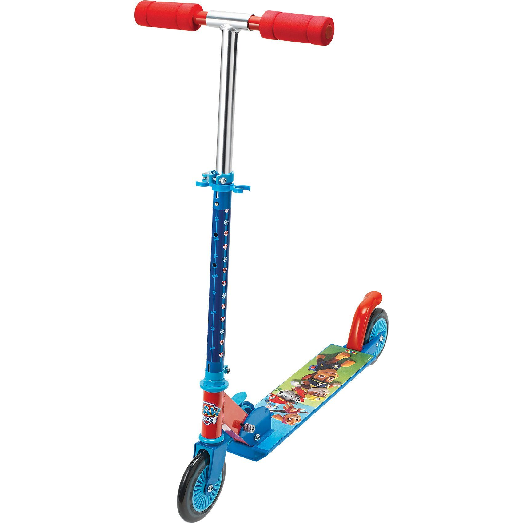 Smoby Paw Patrol Scooter mit Bremse, klappbar