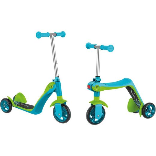 Smoby Scooter Ride 2in1, blau