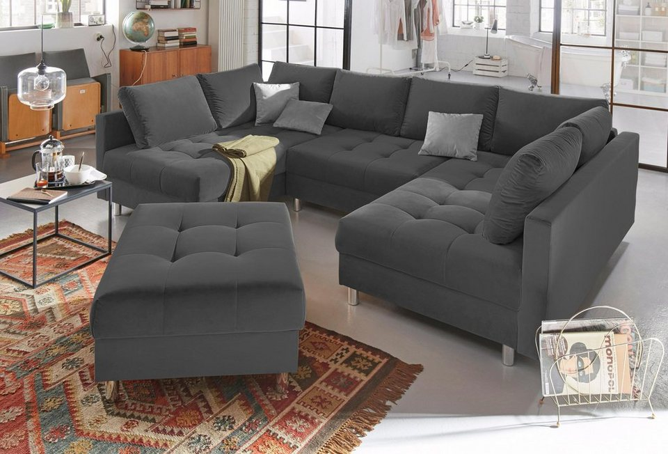 Collection Ab Wohnlandschaft Inklusive Hocker Otto