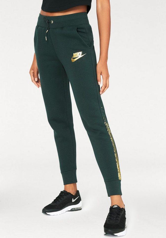 nike sportswear jogginghose w nsw rally pant reg metallic. Black Bedroom Furniture Sets. Home Design Ideas
