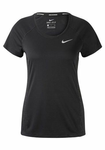 Nike Laufshirt Women Nike Dry Miler Top Shortsleeve Gx
