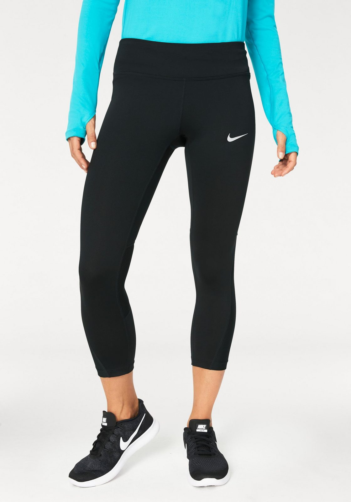Nike Funktionstights »WOMEN NIKE POWER CROP RACER«