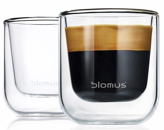 BLOMUS Espressoglas »NERO«, Glas, Doppelwandig, 2-teilig