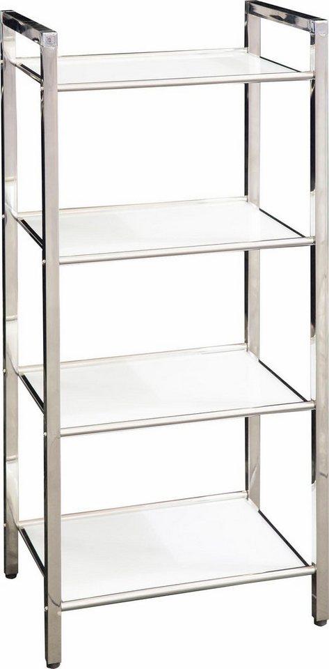 ggg regal »linda« 30x40 cm material edelstahl glas