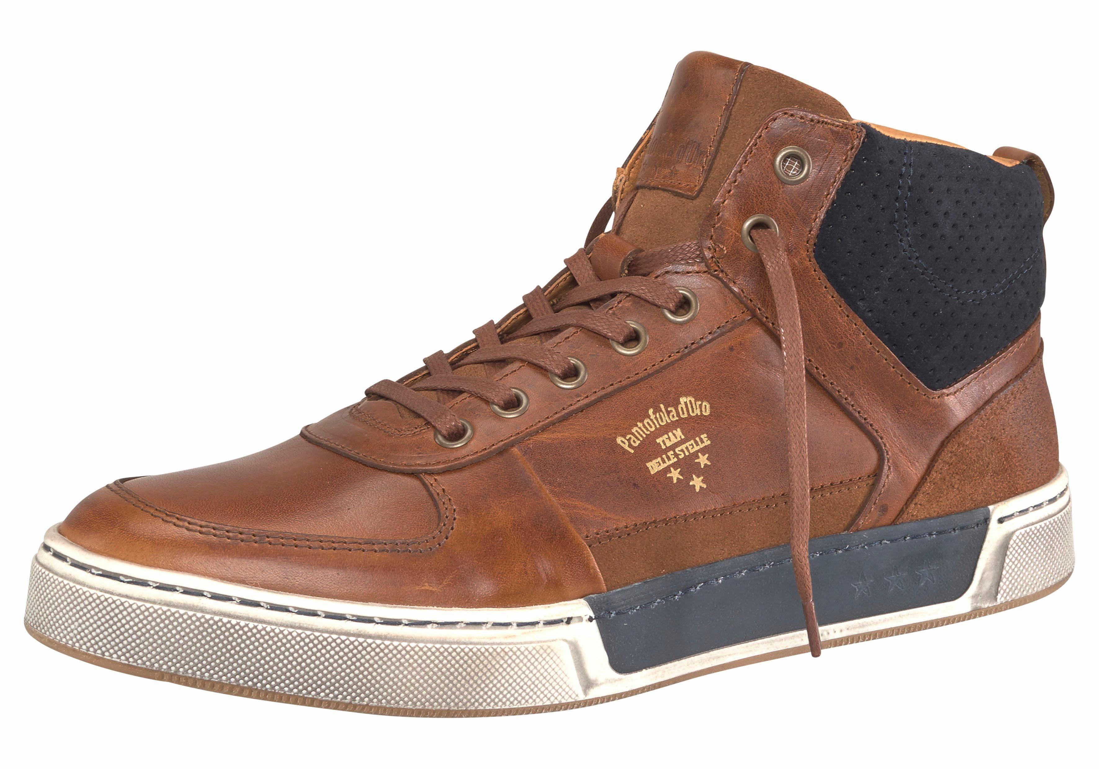 Pantofola d´Oro Frederico Mid Sneaker kaufen  cognac