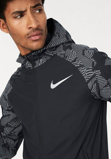 Nike Laufjacke M NIKE ESSENTIALS FLASH JAKET HOOD