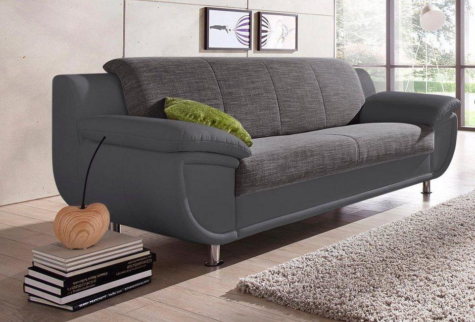 3 sitzer sofa mit federkern, 3-sitzer mit federkern online kaufen | otto, Design ideen