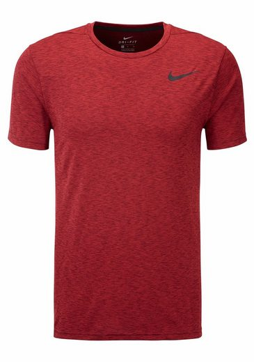 Nike Funktionsshirt M NIKE BREATHE TOP SHORTSLEEVE HYPER DRY