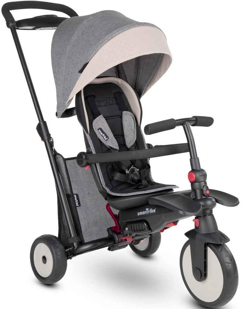 smarTrike® Dreirad »smarTfold STR5, Grau«, mit verstellbarem Sonnenschutzdach