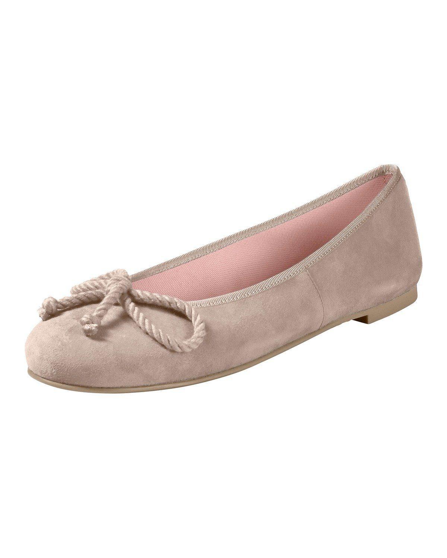 Pretty Ballerinas Nubuk-Ballerinas