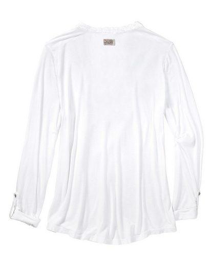 L' Argentina Shirt mit Pailetten