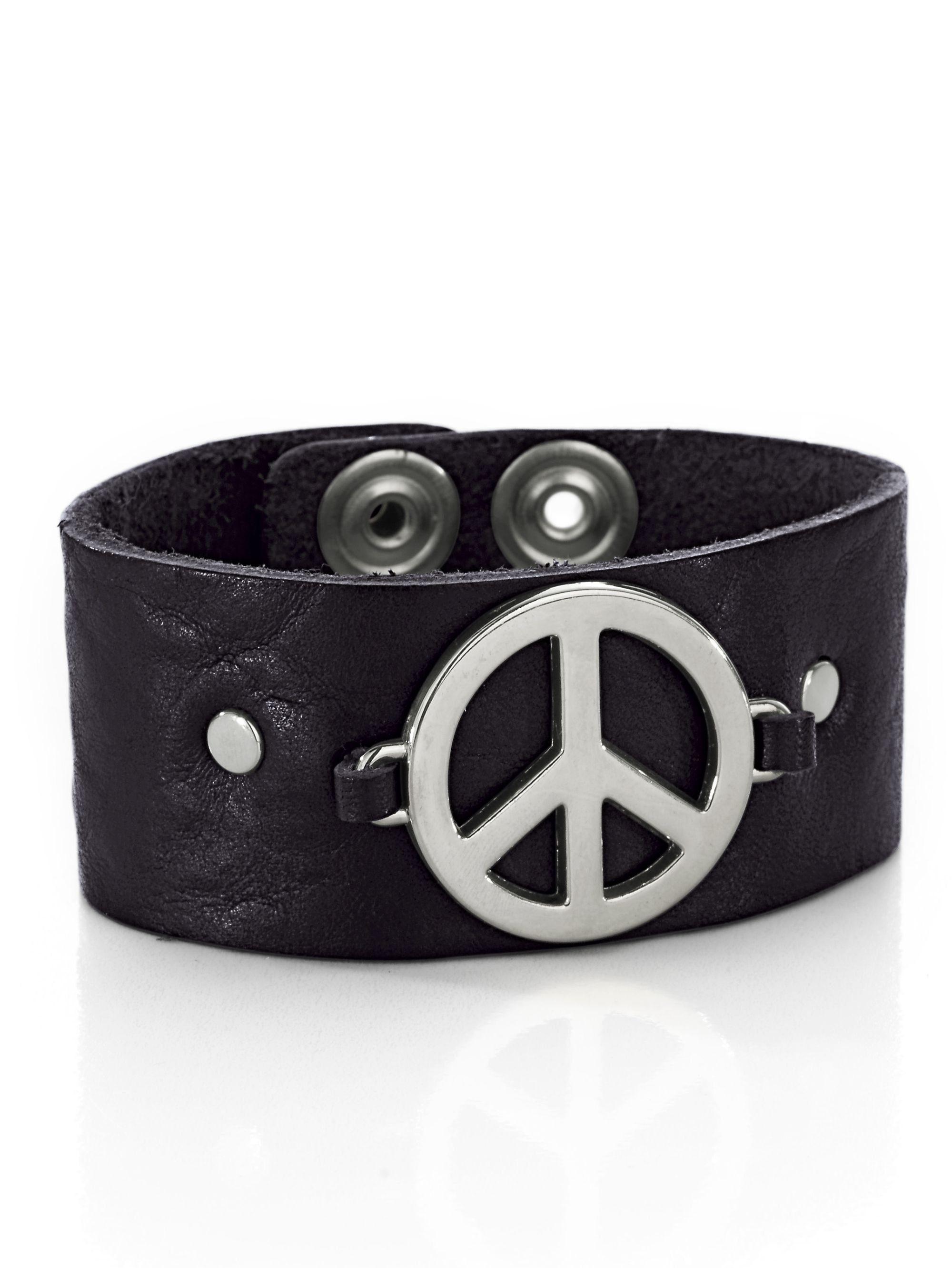 Alba Moda Armband mit 'Peace'-Symbol