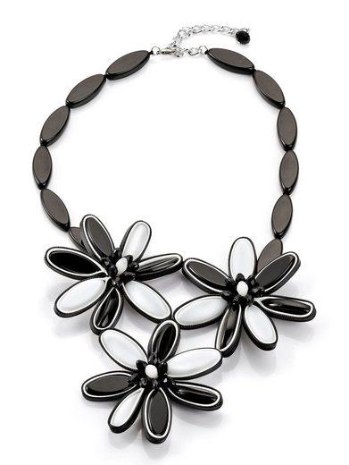 Alba Moda Kette mit Blütenverzierungen