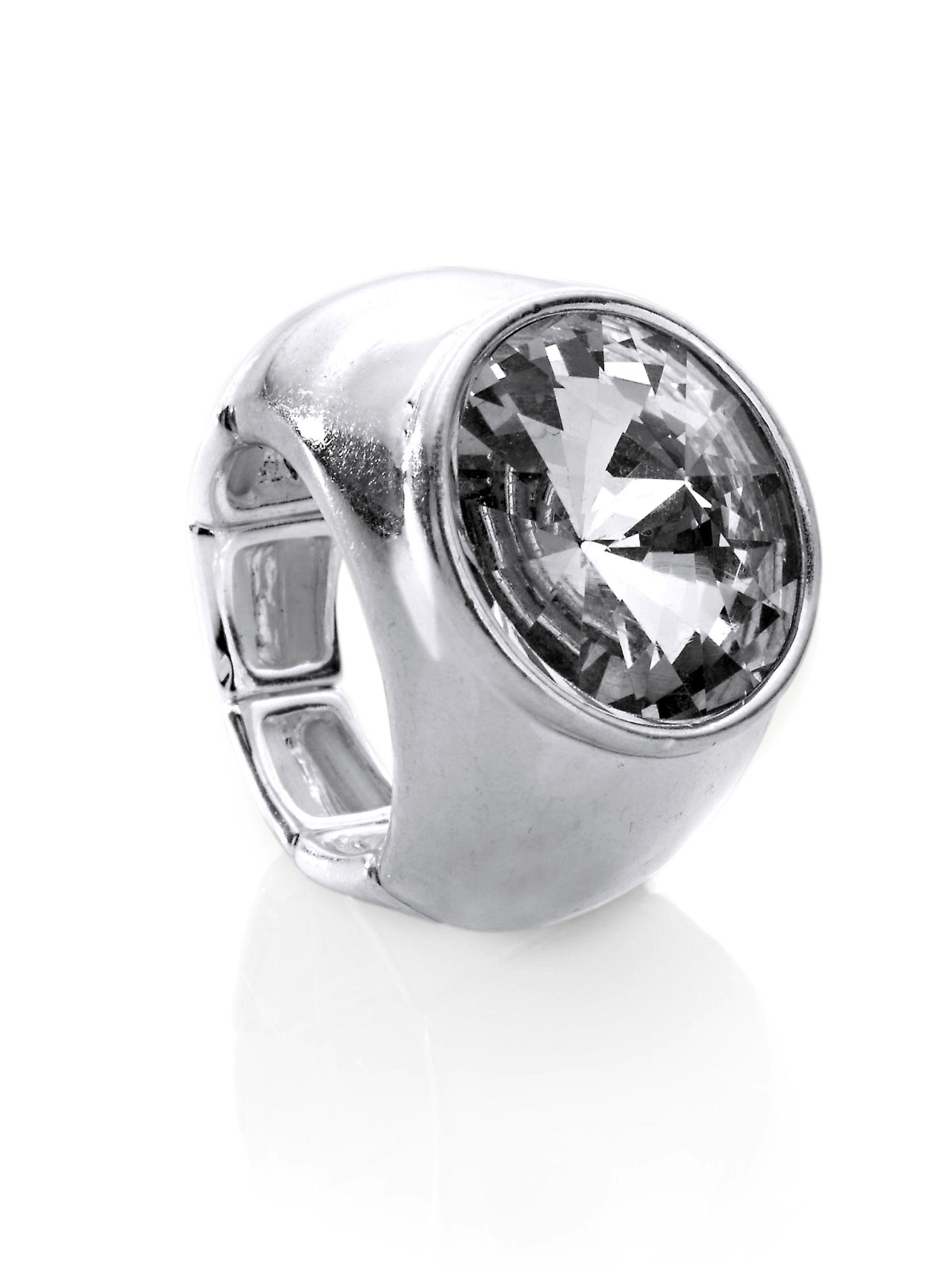 Alba Moda Ring mit Glasstein