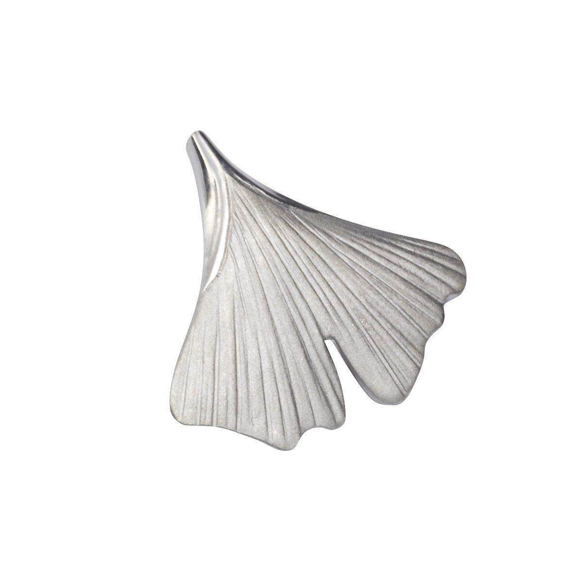 VIVANCE Anhänger »925/- Sterling Silber Ginkgo«