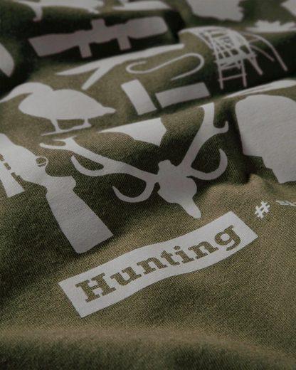 Parforce T-Shirt mit Jagdsymbolen