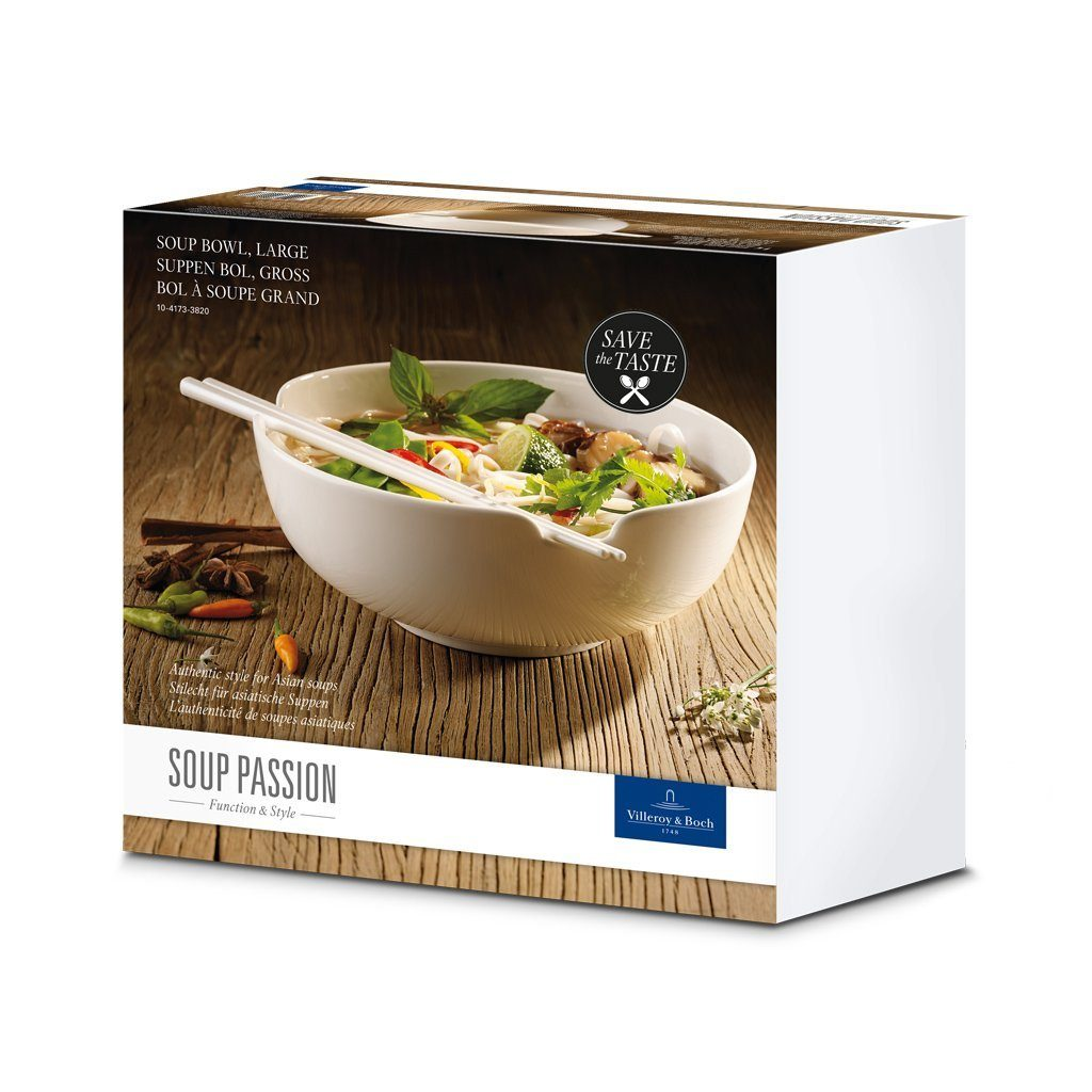 Villeroy & Boch Suppen Bol gross 20,5cm »Soup Passion«