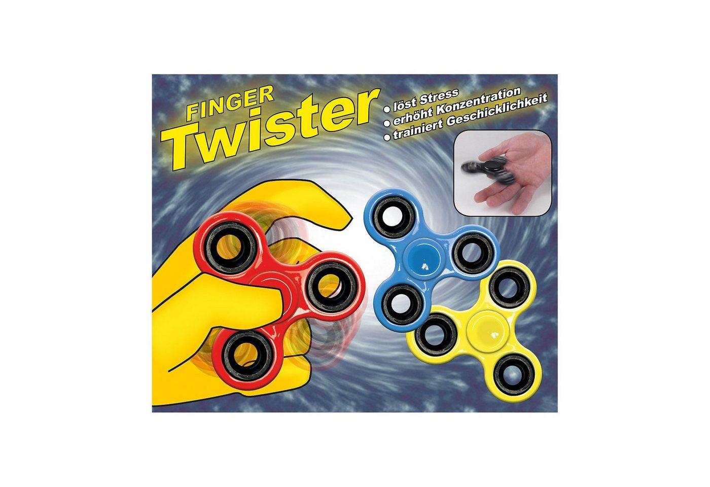 Happy People Finger Twister ca. 7,5 cm (Fidget Spinner), 1 Stück - Preisvergleich