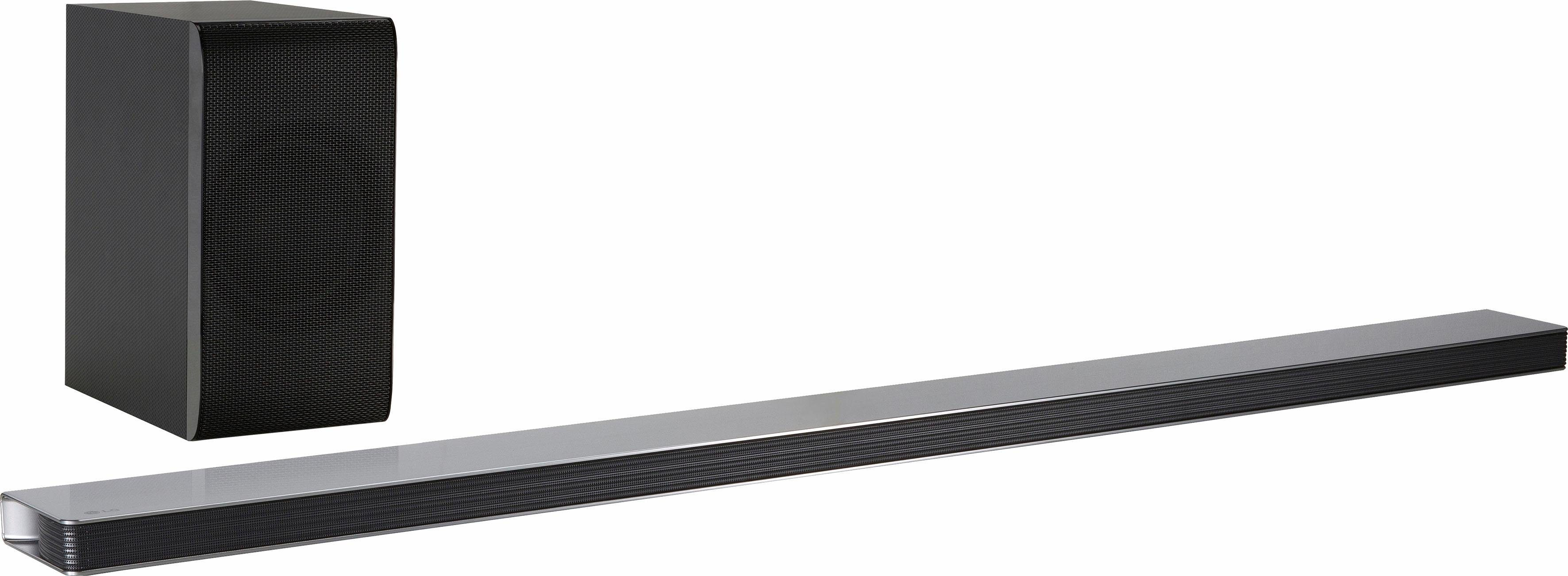 LG SJ8 Soundbar (Hi-Res, Multiroom, Bluetooth, WiFi, Spotify)