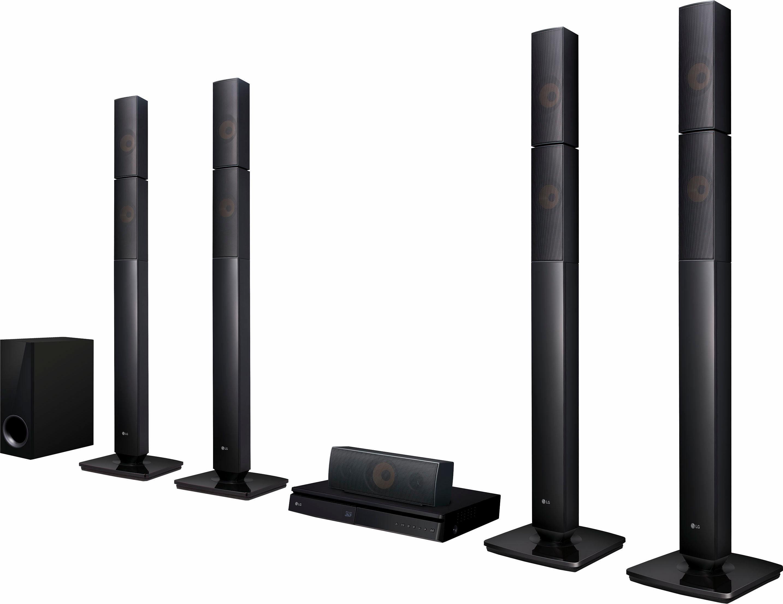 LG LHB655N 5.1 Heimkinosystem (3D Blu-ray Player, Hi-Res, Multiroom, 1.000 W, Bluetooth)