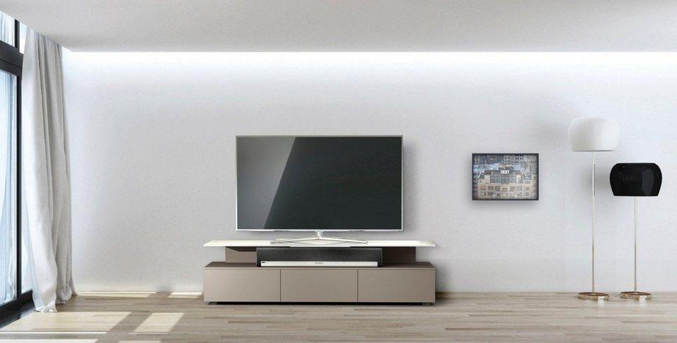 Lowboard Schwebend spectral tv lowboard just racks jrm1650 mit schwebender glasplatte
