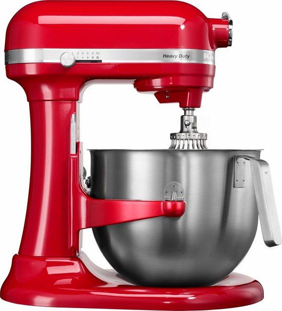 KitchenAid Küchenmaschine HEAVY DUTY 5KSM7591XEER, 500 W, 6,9 l Schüssel, mit Schüsselheber. Farbe EMPIRE ROT