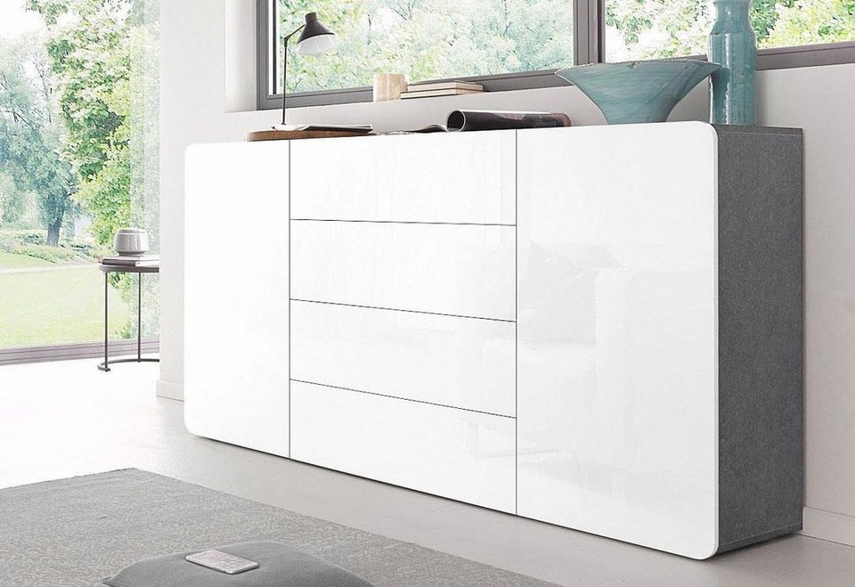 tecnos sideboard botero breite 180 cm kaufen otto. Black Bedroom Furniture Sets. Home Design Ideas