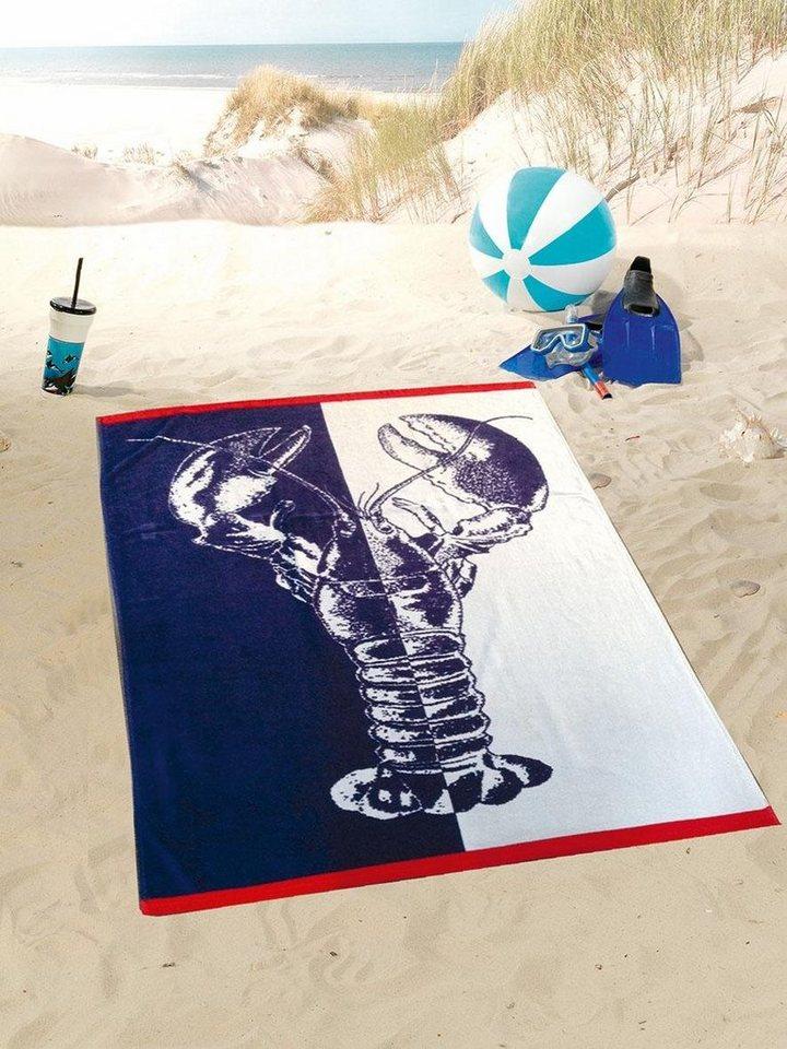 Strandtuch Lobster Gozze Mit Hummer Motiv Otto