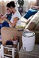 Philips Luftbefeuchter HU4811/10 2000 Series, mit NanoCloud-Technologie, für Babys und Kinder, Bild 5