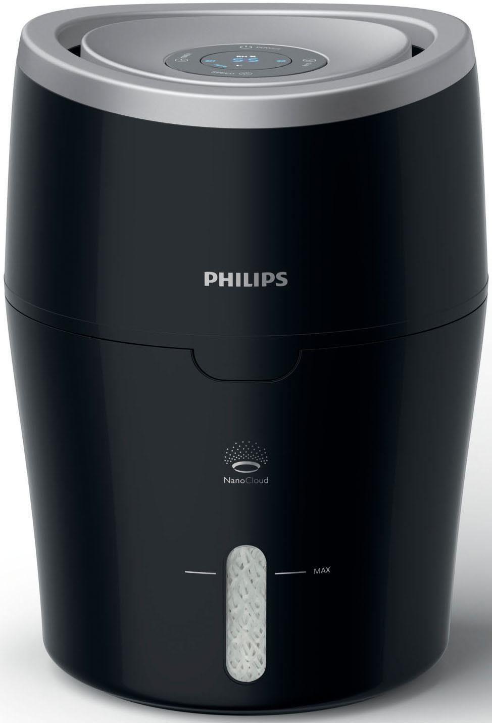 Philips Luftbefeuchter HU4813/10 2000 Series, mit NanoCloud-Technologie