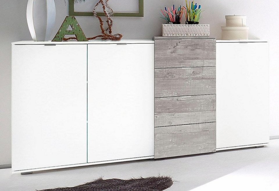 sideboard breite 158 cm online kaufen otto. Black Bedroom Furniture Sets. Home Design Ideas