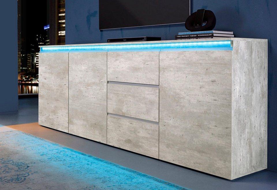 sideboard anthrazit cool hartmann caya highboard novum massiv kerneiche with sideboard. Black Bedroom Furniture Sets. Home Design Ideas