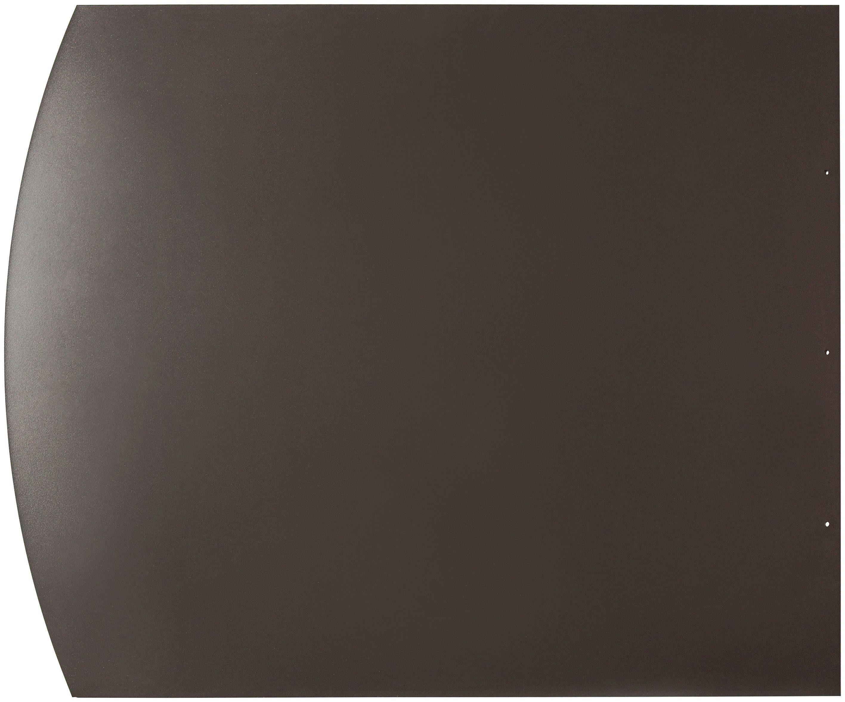 Scandia Stahlbodenplatte »Segmentbogen«, 100 x 80 cm, grau, zum Funkenschutz
